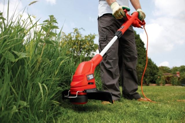 Скашивание высокой травы